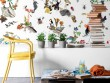 Le papier peint inspiré des planches Deyrolle pour un intérieur éducatif