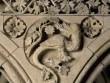 Mont-Saint-Michel : détail des sculptures