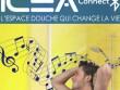 Découvrez Ilea Connect, une douche musicale et connectée