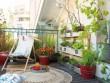 Un balcon aux allures de petit salon