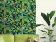Un papier peint perroquet pour un effet forêt tropicale dans le salon