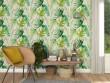 Un papier peint façon mur végétal pour un intérieur green