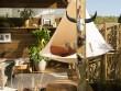 Une terrasse tout droit sortie du désert