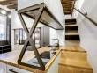 Un escalier malin pour accéder à la mezzanine