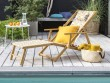 Une chilienne pour buller au bord de la piscine