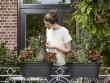 Des jardinières à suspendre pour verdir un mini balcon