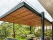 Une terrasse en béton pour prolonger le salon