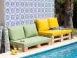 Du mobilier de jardin en palettes