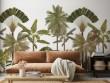 Inspiration tropicale dans le salon