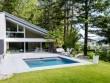 Trophée d'argent ex-aequo catégorie piscine familiale de forme angulaire de moins de 40 m2