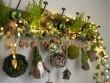 Une branche de sapin pour couronne de Noël