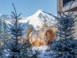 Un sauna avec vue panoramique