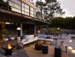 Un éclairage extérieur soigné pour une terrasse cosy