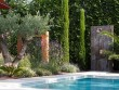 Un jardin aux accents méditerranéens