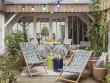 Une petite terrasse pour se détendre