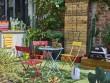 Une petite terrasse à l'esprit jardin