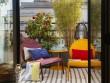 Un balcon fleuri et coloré
