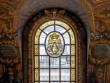Des vitraux provenant de la Manufacture royale des glaces