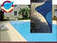 Aménagez votre plage de piscine avec les dalles et margelles Weser