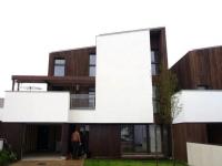 Des maisons bois à l'allure contemporaine