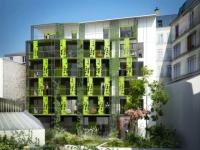 Des logements sociaux à énergie positive à Paris
