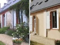 Avant/après : ravalement de façade d'une maison de maître