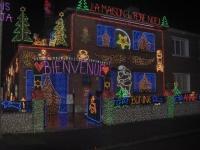 Une maison revêt ses habits de lumière