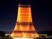 Lumières sur Paris la nuit
