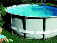 Une piscine vite installée