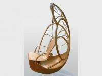 Focus jeune talent : un siège cocon en bois inspiré de la nature