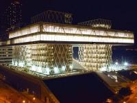 Un bâtiment flottant pour l'Institut du Design de Hong Kong