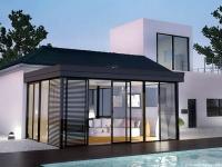 Vent de nouveautés chez Véranda Rideau : Icône, véranda extension toiture plate et modèles ...