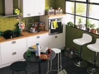 """Petites cuisines : 15 solutions """"gain de place"""""""