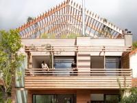Une maison bois qui révolutionne un quartier pavillonnaire