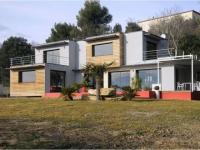 Une maison bioclimatique ouverte sur la nature