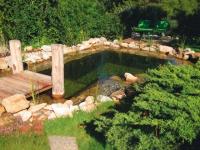 Un bassin artificiel à effet naturel