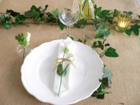 Fleurir soi-même sa table de mariage