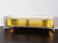 Un meuble design qui cache une installation HiFi