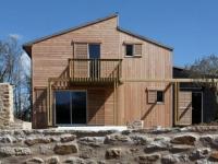 Une maison bretonne organique et bioclimatique