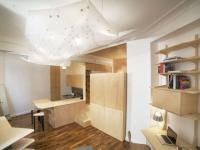 Un studio de 35m2 au plafond mouvant