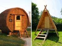Hôtel insolite : des tonneaux géants et des tentes nomades