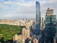 New York accueille une tour aux allures de cascade