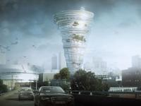 Une tour tornade s'invite dans la skyline américaine