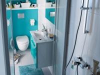 Petite salle de bains : 15 solutions d'aménagement