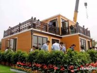 Une villa chinoise montée en moins de trois heures (VIDEO)