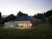 Une maison bioclimatique comme un papillon