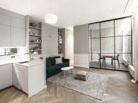 Modernisé et repensé, un Haussmannien de 65 m2 gagne une pièce en plus