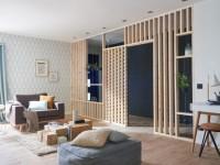 Séparation de pièces : 10 structures bois originales