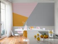 Peinture : des triangles sur mon mur
