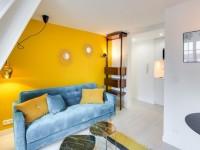 Petit espace : un 17 m2 se transforme en cocon acidulé